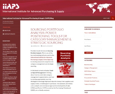 Click to access the IIAPS Blog